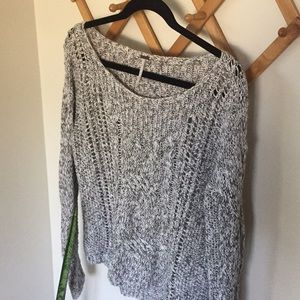FREE PEOPLE Chunky Knit Sweater Top
